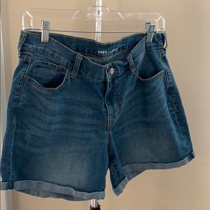 Old Navy - rolled Jean shorts
